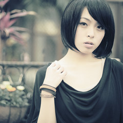 (`Kevin WangWANG CHI WEN)) Tags: girl canon garden eos photo photos 5d  2009       aplusphoto atomicaward