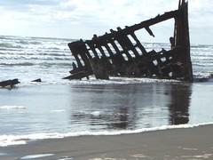 The wreck of the Peter Iredale British barkentine (Karen Wilson Hagy) Tags: ocean peter shipwreck iredale