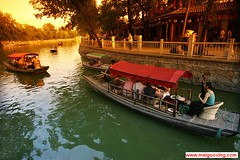 Boating at Beijing's Houhai (Back Lake, Shichahai) () (Meiguoxing) Tags: china lake back beijing  sight  hai houhai peking attraction attractions  hou  pkin pechino shichahai