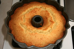 Orange-Ricotta Pound Cake with Marmalade Glaze