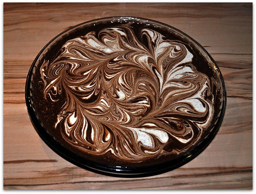 Cheesecake Marbled Brownies