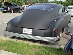 1949 (or '50?) Chevy Fleetline (splattergraphics) Tags: chevy chopped primer 1950 1949 fleetline slammed customcar cruisenight glenburniemd lostinthe50s marleystationmall