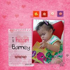 i heart barney