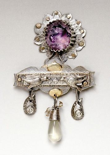 Linda Kaye-Moses - Purple Blossom