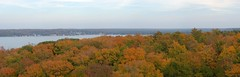 eagle-tower-ephraim-pano-fixed (danieljohannsson) Tags: panorama fall leaves wisconsin ephraim doorcounty autostich peninsulastatepark eagletower