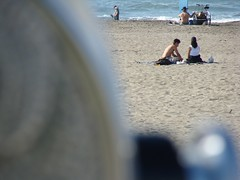 Lovers (easywriterguy) Tags: sanfrancisco beach couples romance oceanbeac