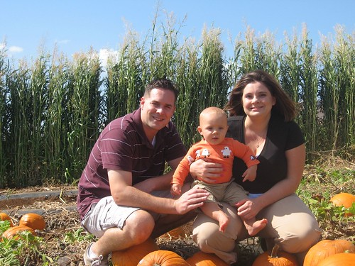 Our First Family Pumpkin Hunt