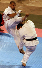 KARATE!!! npc (Yo escribo con la luz) Tags: chile santiago karate deporte kimono victorjara patada cruzadas ltytr1