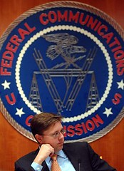 Chairman Martin At FCC Headquarters- 10/31/07