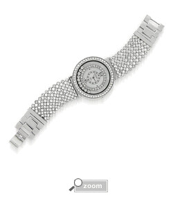 CHOPARD INSPIRED FLOATING CRYSTAL WATCH $49
