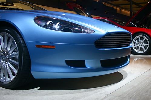 Astin Martin Cars at LA Auto Show 2007