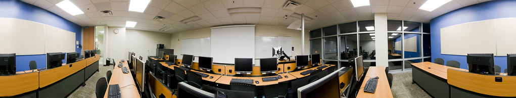 SCC Classroom Panorama
