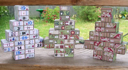 Matchbox Advent Trees