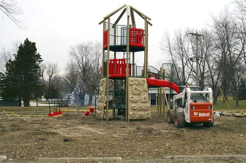 BG's new playground equipment