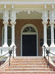 10 The Elegant Front Entrance to Longwood - Natchez, Mississippi (sunnybrook100) Tags: door mississippi columns steps gingerbread natchez column mansion antebellum frontdoor longwood adamscounty nationaltrustforhistoricpreservation pillers piller nthp