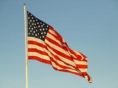 Houston Texas, American Flag PC167985