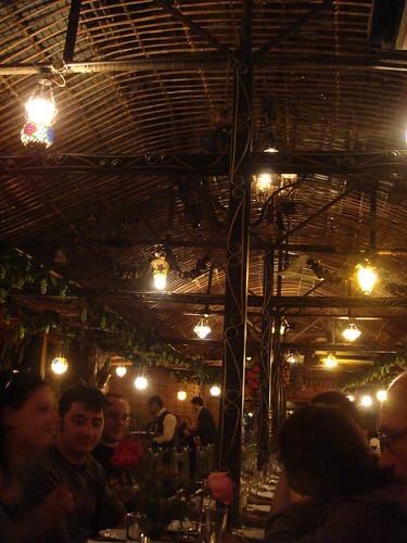 開羅一個傳統的阿拉伯餐廳