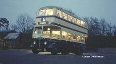 Night bus. (Lady Wulfrun) Tags: night shot daimler twm bct cvg6 3225 wmt wmpte