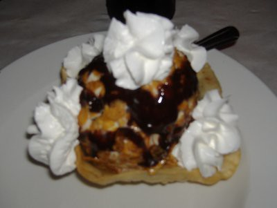 Yucatan Grill - Deep-fried Ice Cream