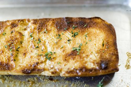 chicken legs thyme bread 074