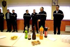 Les vœux de la gendarmerie de Nogaro