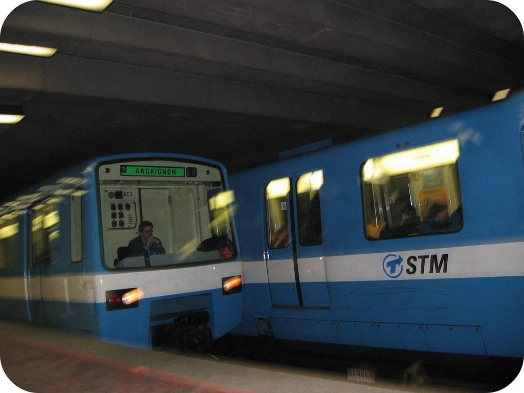 Rame de métro ligne verte