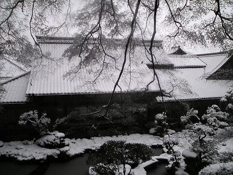 当麻寺(雪景色)-07