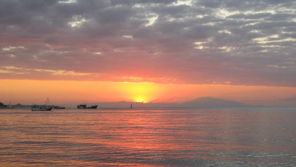 Sunset: Dili, East Timor