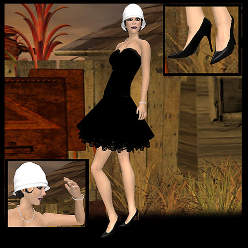 Cover Girl_Black Dress