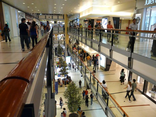 Interieur du Shopping Abasto