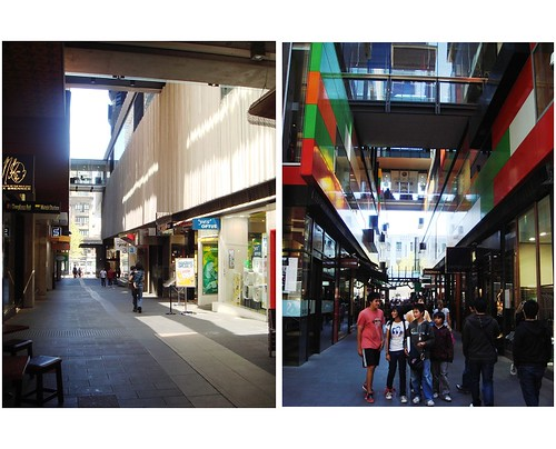 QV laneway shopping