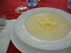 很濃的起司濃湯