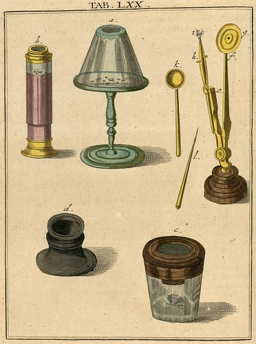 Amusement microscopique MF Ledermuller 1766 4