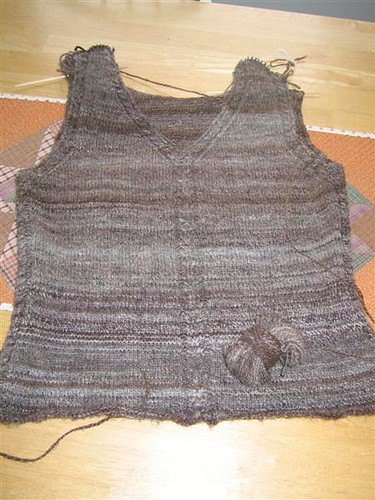 sweater vest almost done 3-08 sharpened