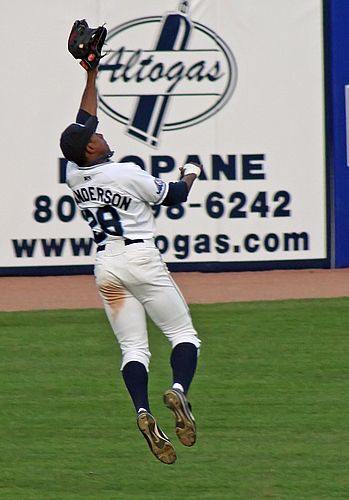 Granderson Catch Tuesday