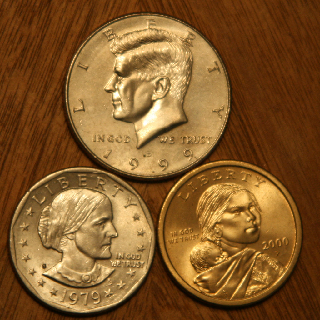 Dollar and Half-dollar Coins
