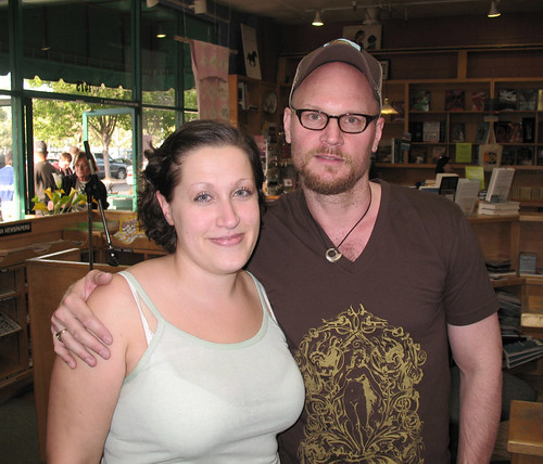 Meeting Augusten Burroughs!