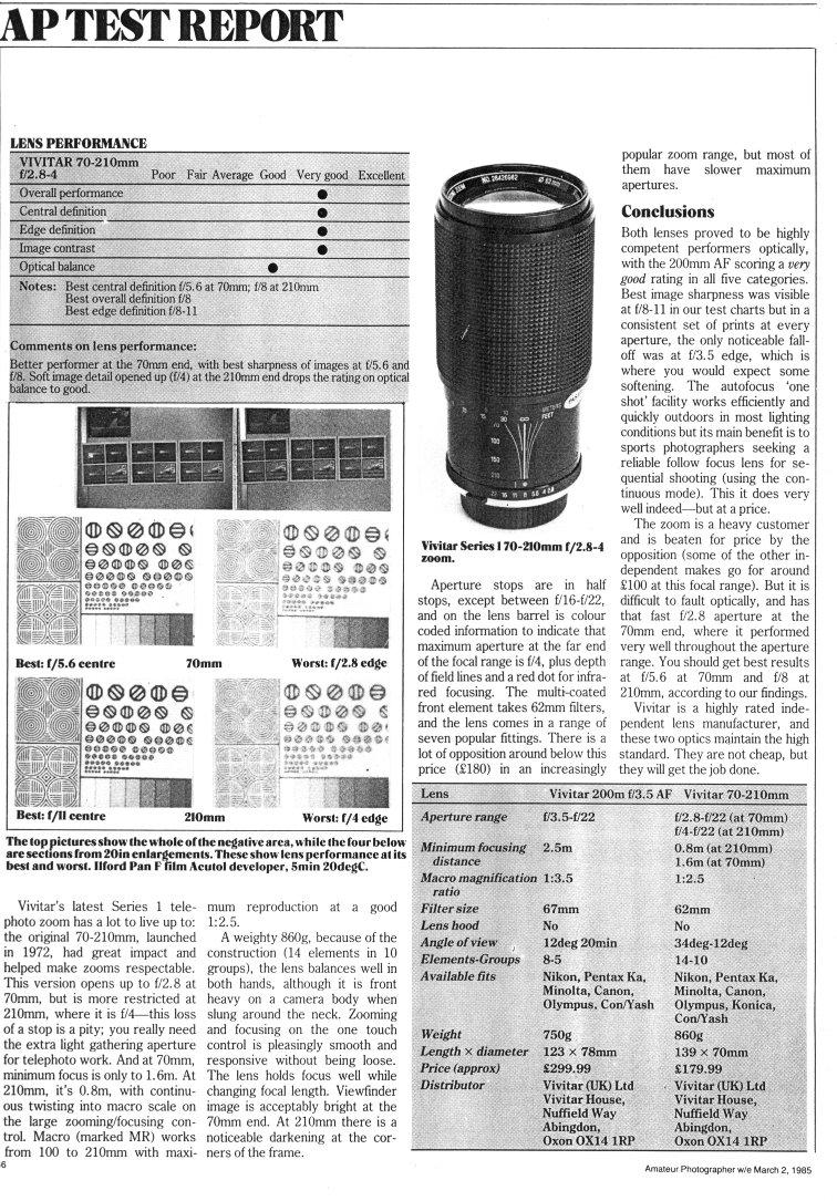Vivitar Series 1, 70-210 (third-Komine edition)
