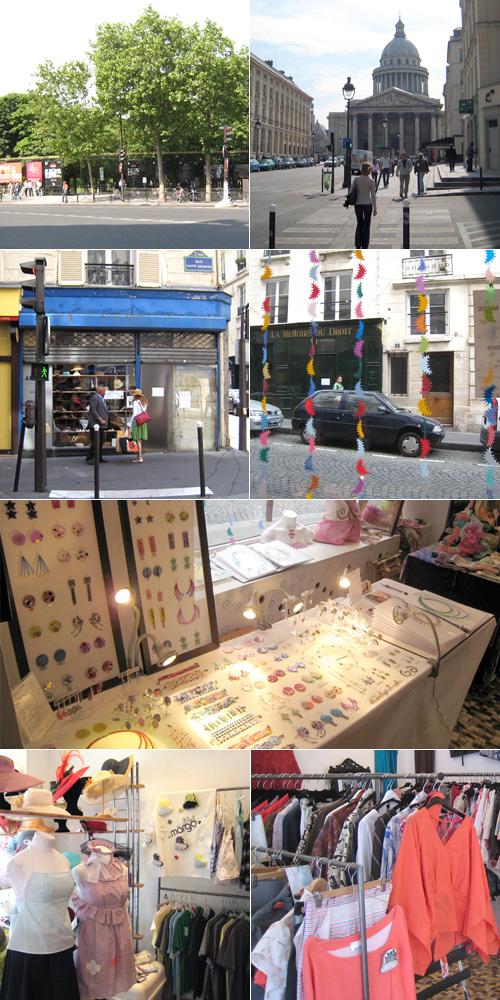 Salon de la Mode rue Saint-Jacques