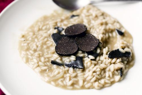 Black Truffles Risotto