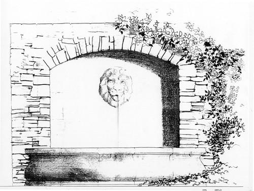 Rancho Santa Fe Fountain