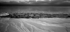 ice cover (juhanflick) Tags: panorama 6x12 bw s