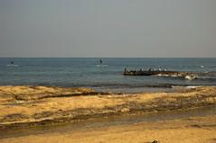 Disfrutando del Paddle Surf (bormanp) Tags: alicante cabo huerta san juan pájaros mediterraneo mar agua deporte piedra paisaje naturaleza
