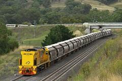 Lone Banker (Aussie foamer) Tags: 5040 5020class ge generalelectric qrnational qrn aurizon graintrain bankers ardglen newsouthwales train railway locomotive rpaunsw5020class rpaunsw5020class5040