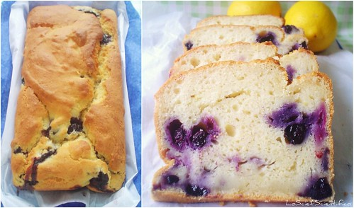 Lemon&Blueberry Muffone