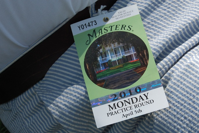 Masters Ticket