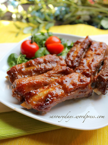 Sweet & sour pork ribs