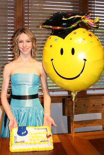 Christina's graduation party.