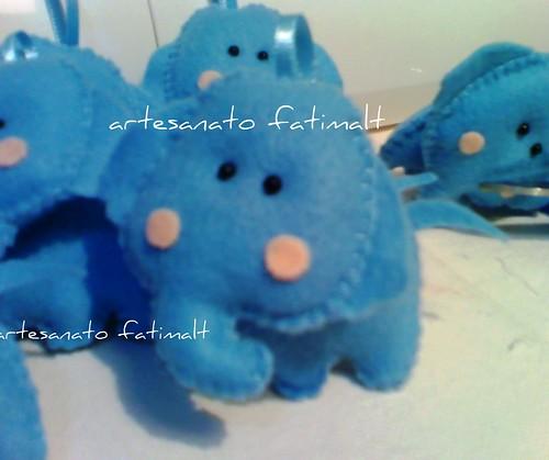 bichinho de feltro-lembrancinhas by fatimalt