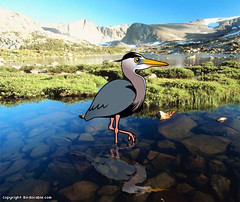 Birdorable Great Blue Heron (birdorable) Tags: cute bird heron greatblueheron birdorable